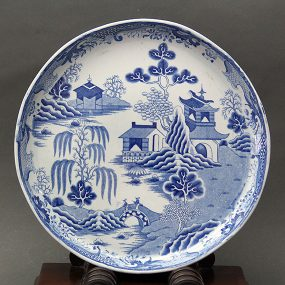 Mason's Ironstone China Cheese Dish - Pagoda Pattern