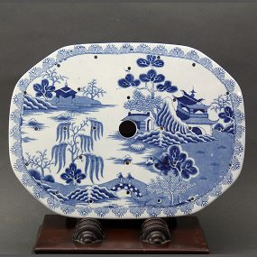 Mason's Ironstone China Drainer - Pagoda Pattern